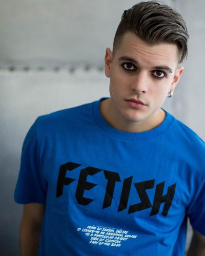 Fetish Blue T-shirt